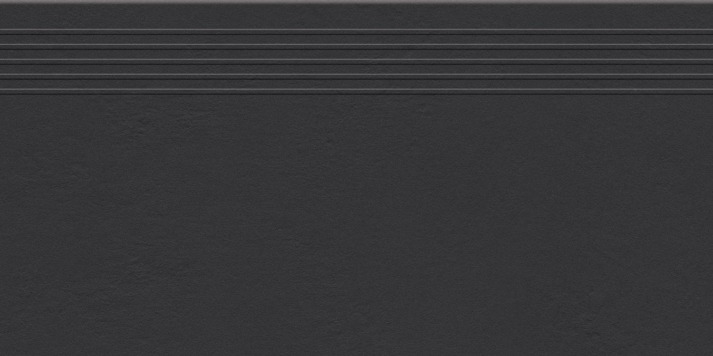 Stopnica podłogowa Tubądzin Industrio Anthrazite MAT 59,8x29,6 cm