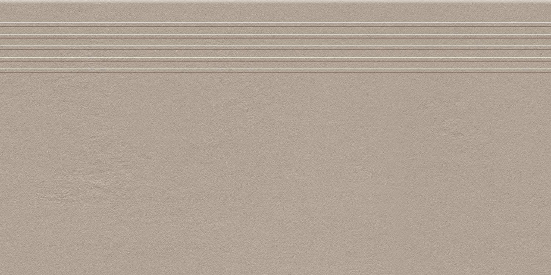 Stopnica podłogowa Tubądzin Industrio Beige MAT 59,8x29,6 cm