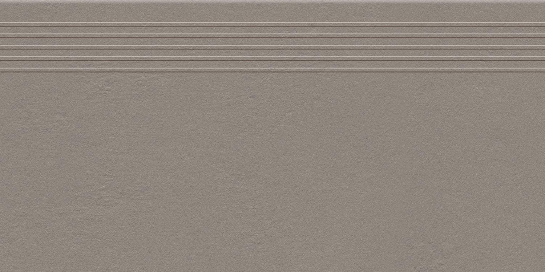 Stopnica podłogowa Tubądzin Industrio Brown MAT 59,8x29,6 cm