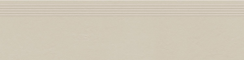 Zdjęcie Stopnica podłogowa Tubądzin Industrio Cream MAT 119,8×29,6 cm