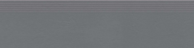 Stopnica podłogowa Tubądzin Industrio Graphite MAT 119,8x29,6 cm