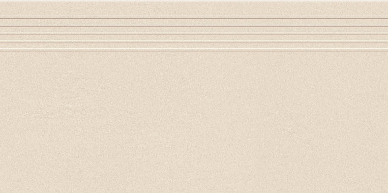 Stopnica podłogowa Tubądzin Industrio Ivory MAT 59,8x29,6 cm