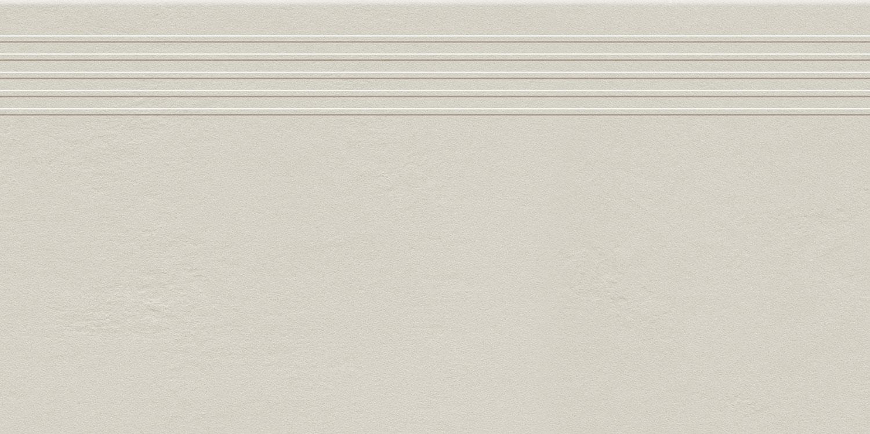 Stopnica podłogowa Tubądzin Industrio Light Grey MAT 59,8x29,6 cm