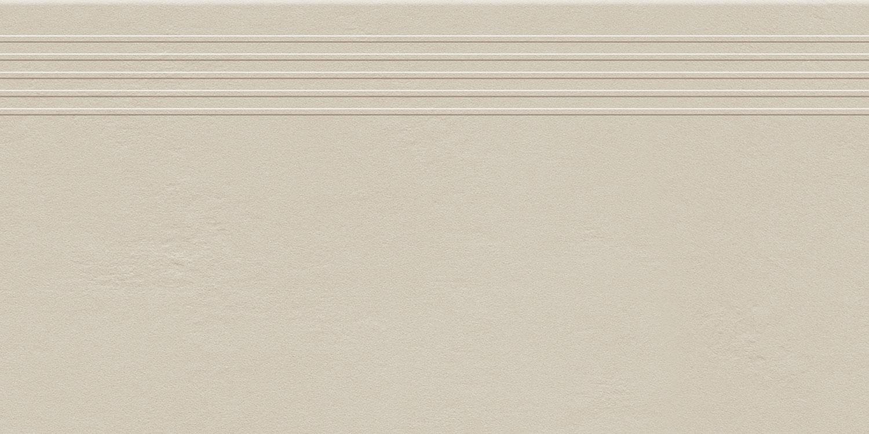 Stopnica podłogowa Tubądzin Industrio Cream MAT 59,8x29,6 cm