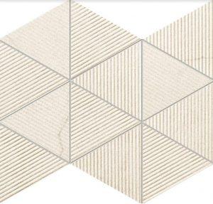 Mozaika ścienna Tubądzin Clarity beige 32,8x25,8 cm (p) MS-01-200-0328-0258-1-010