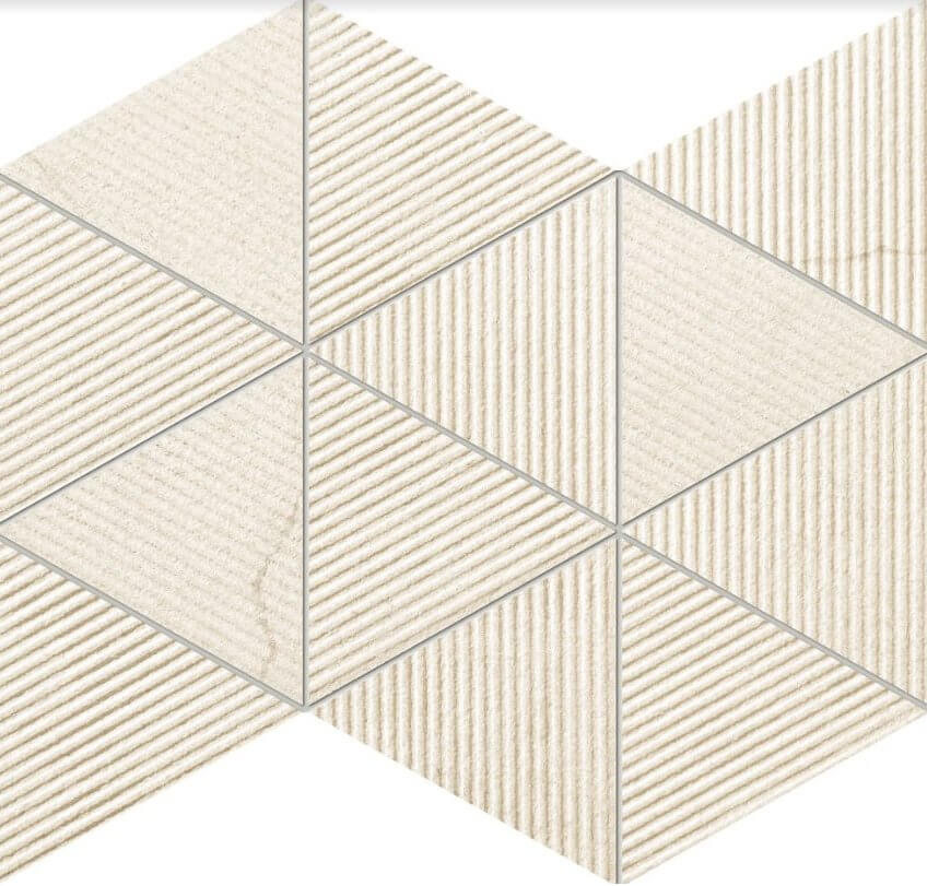 Mozaika ścienna Tubądzin Clarity beige 32,8x25,8 cm (p)