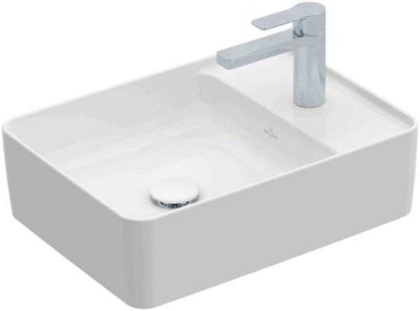 Zdjęcie Umywalka nablatowa Villeroy & Boch Collaro 510 x 380 mm Weiss Alpin CeramicPlus 4A1751R1