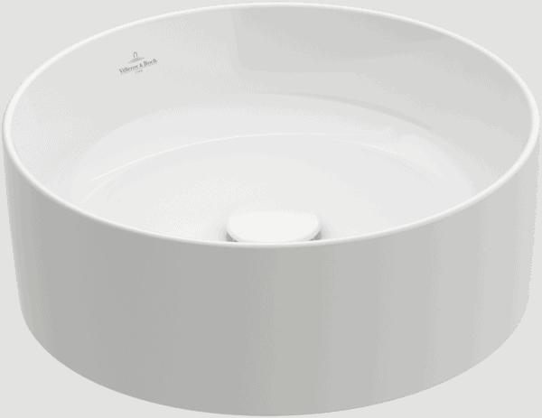 Zdjęcie Umywalka nablatowa Villeroy & Boch Collaro 400 mm Weiss Alpin CeramicPlus 4A1840R1