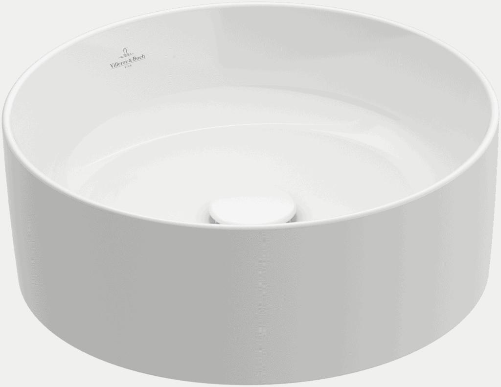 Umywalka nablatowa Villeroy & Boch Collaro 400 mm Weiss Alpin CeramicPlus 4A1840R1