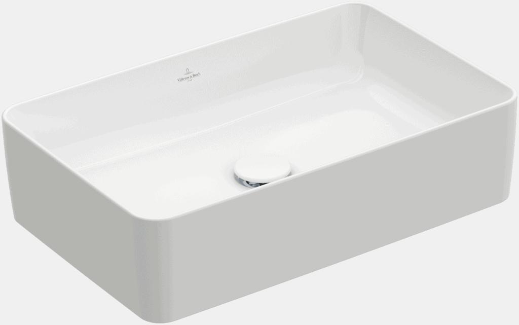 Umywalka nablatowa Villeroy & Boch Collaro 560 x 360 mm Weiss Alpin CeramicPlus 4A2056R1