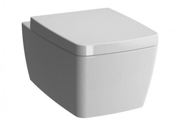 Zdjęcie Miska wisząca WC Vitra Metropole Slim długa 56x36cm + Deska WC wolnoopadająca 5676B003-0075 + 90-003-409
