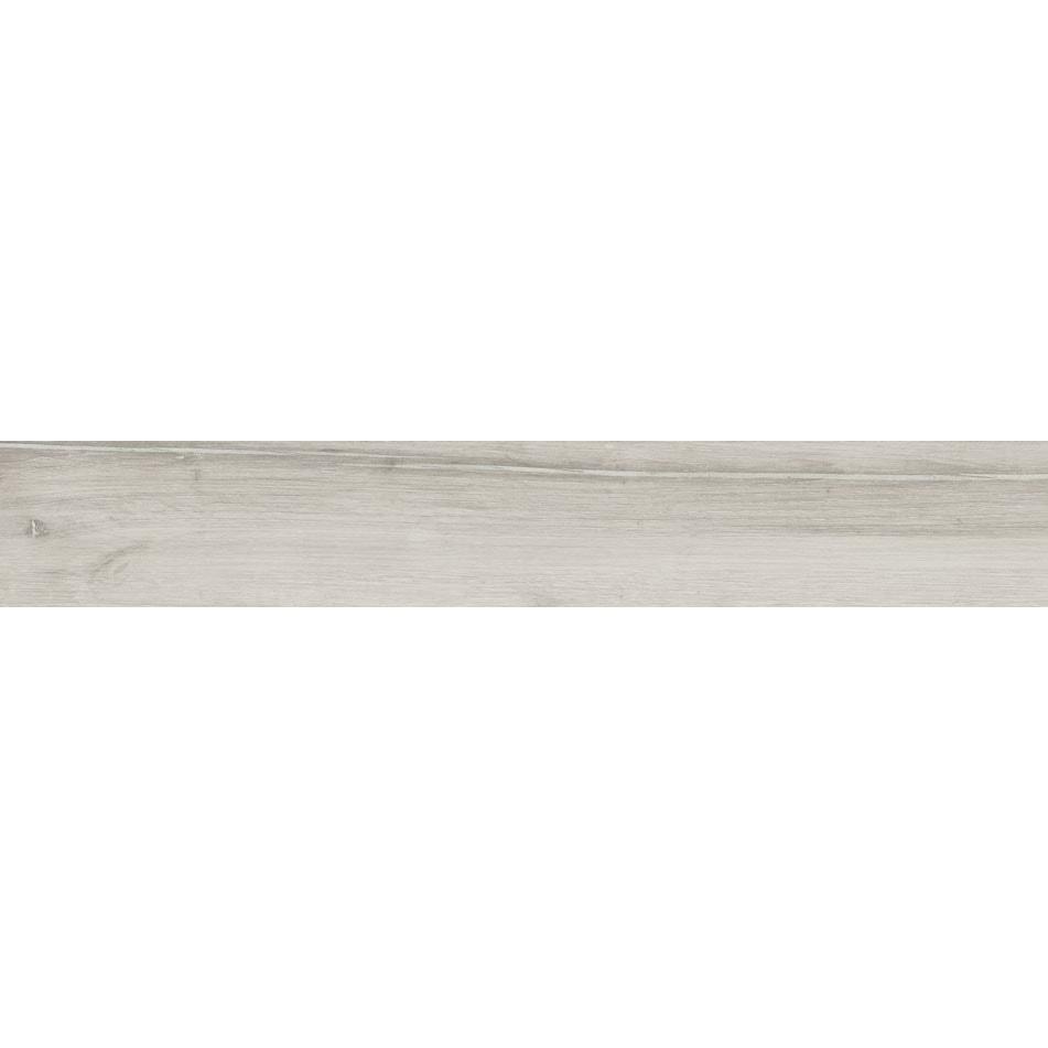 Płytka podłogowa deskopodobna Tubądzin Wood Craft grey STR 119,8x19 cm