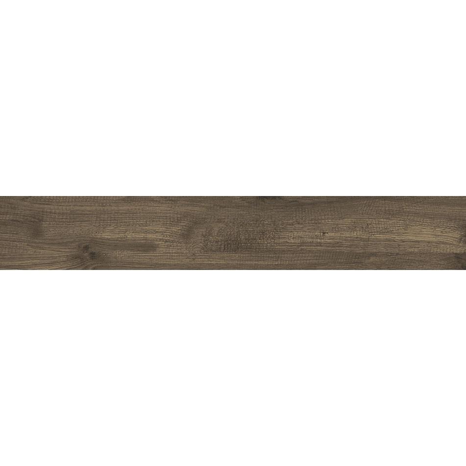 Płytka podłogowa deskopodobna Tubądzin Wood Shed brown STR 119,8x19 cm