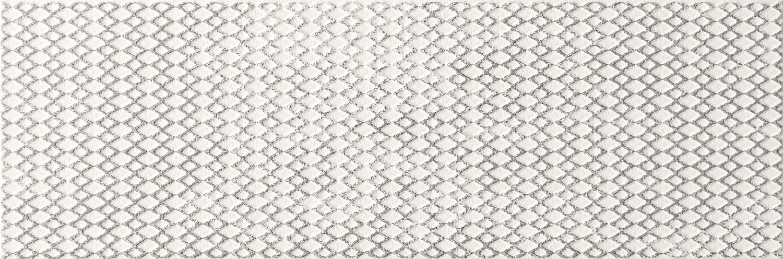 Zdjęcie Płytka ścienna Tubądzin Brave platinum STR 14,8×44,8 cm