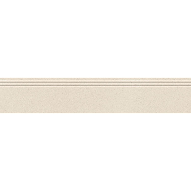 Stopnica podłogowa Tubądzin Urban Space ivory 119,8x29,6 cm