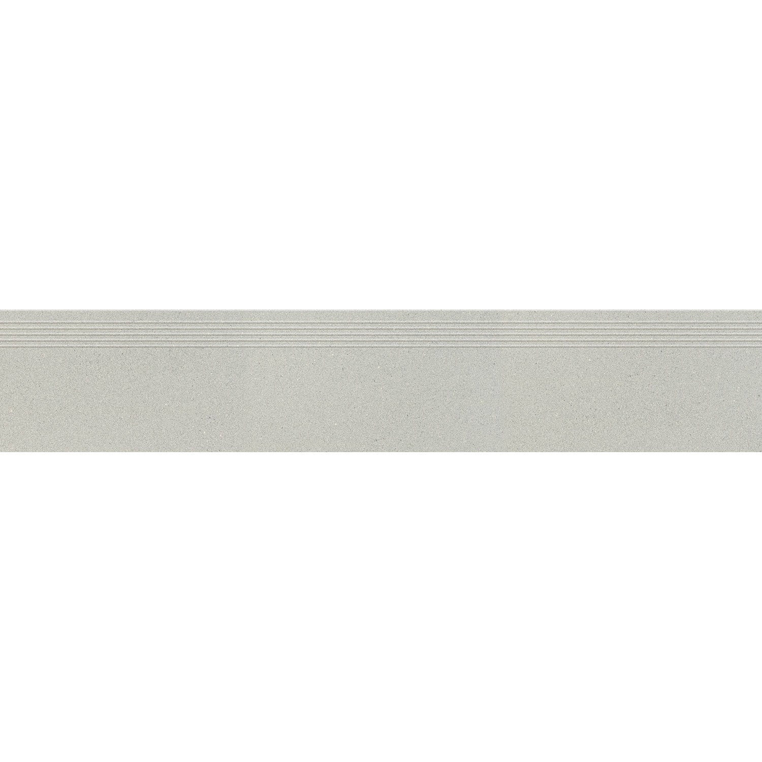 Stopnica podłogowa Tubądzin Urban Space light grey 119,8x29,6 cm