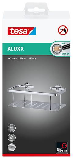 Zdjęcie Koszyk łazienkowy Tesa Aluxx 92x250x125 bez wiercenia 40202