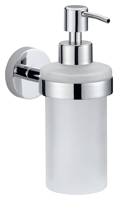 Dozownik mydła Tesa Smooz 170x70x126 mm chromowany metal /matowe szkło 40323