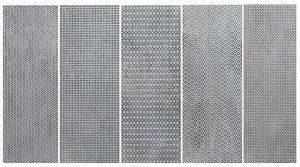 Płytka ścienna Tubądzin Brave iron STR 14,8x44,8 cm