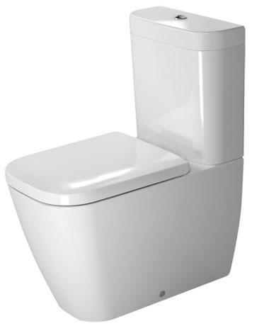 Miska toaletowa stojąca Duravit Happy D.2 36,5 x 63 cm 2134092000