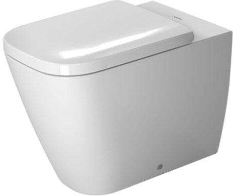 Miska toaletowa stojąca Duravit Happy D.2 36,5 x 57 cm 2159092000
