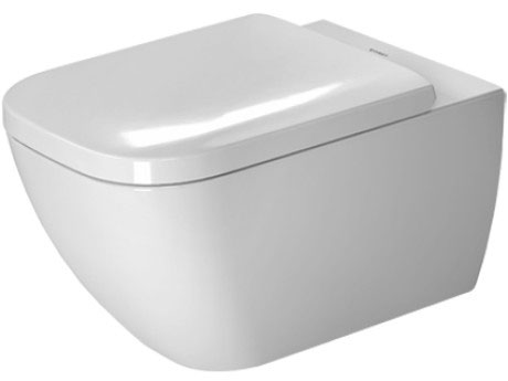 Miska toaletowa wisząca Duravit Happy D.2 36,5 x 54 cm 2221092000