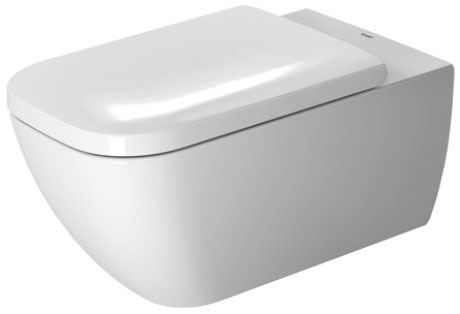 Miska toaletowa wisząca Duravit Happy D.2 Rimless 36,5 x 62 cm 2550090000