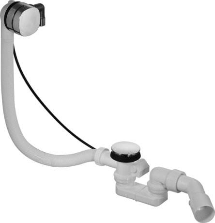 Akcesoria Zestaw przelewowo-odpływowy Quadroval Duravit Happy D.2 791222000001000
