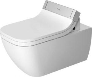 Miska toaletowa wisząca Duravit Happy D.2 Rimless do SensoWash 36,5 x 62 cm 2550590000