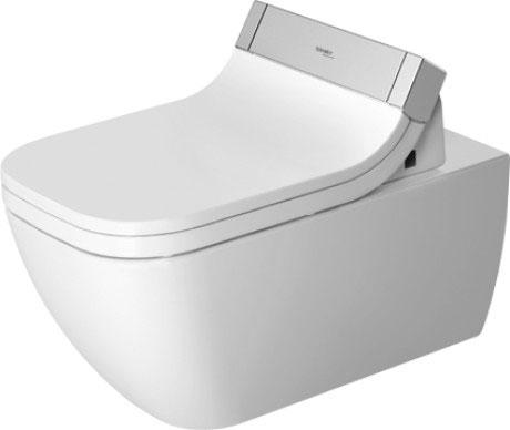 Zdjęcie Miska toaletowa wisząca Duravit Happy D.2 Rimless do SensoWash 36,5 x 62 cm 2550590000