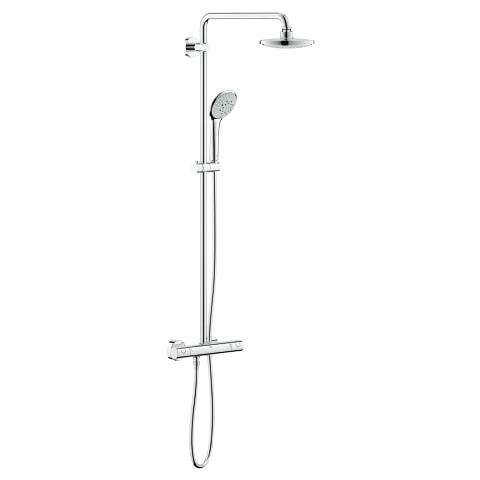 Euphoria System 180 System prysznicowy z termostatem do montażu ściennego chrom 26492000 .