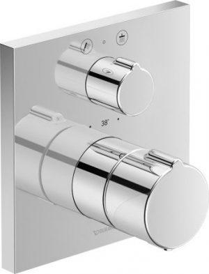 Bateria prysznicowa podtynkowa termostatyczna Duravit C.1 C14200013010