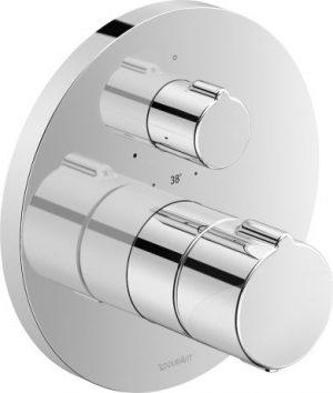 Bateria prysznicowa podtynkowa termostatyczna Duravit C.1 C14200016010