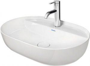 Umywalka nablatowa Duravit Luv 60x40 cm biała 380602600