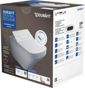 Zestaw SensoWash Slim / DuraStyle WC wiszące Duravit 631001002004300