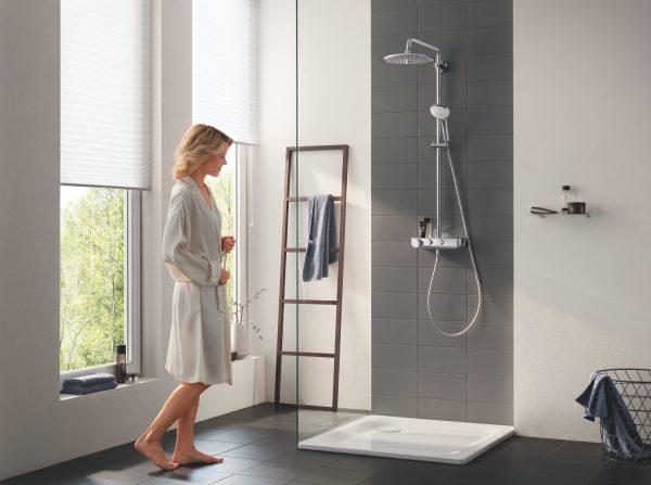 Zdjęcie GROHE Euphoria SmartControl 260 Mono – termostatyczny system prysznicowy chrom 26509000 .