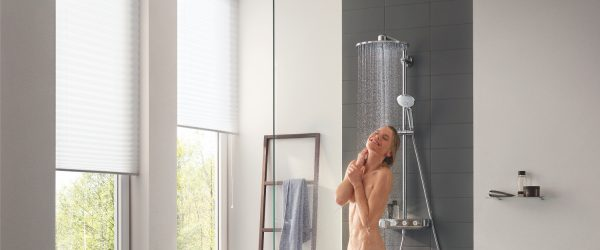 Zdjęcie GROHE Euphoria SmartControl 310 Duo – system prysznicowy z termostatem do montażu ściennego 26507000 .