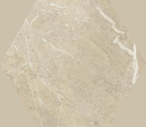 Dekoracja podłogowa Paradyż Tosi Beige Hexagon Poler 17,1x19,8 cm