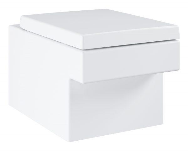 Zdjęcie GROHE Cube Ceramic – wolnoopadająca deska sedesowa 39488000 @