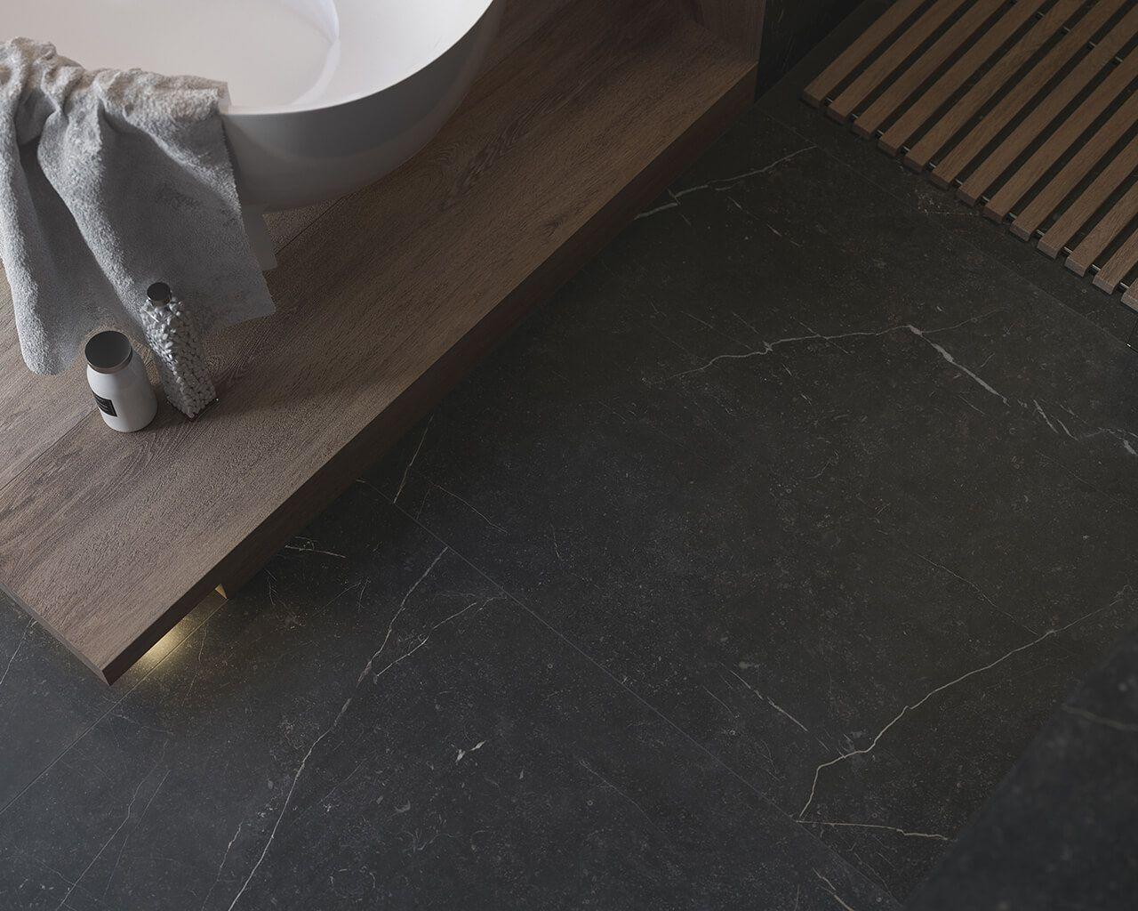 Zdjęcie Płytka podłogowa Barro Nero Mat 89,8×89,8 cm