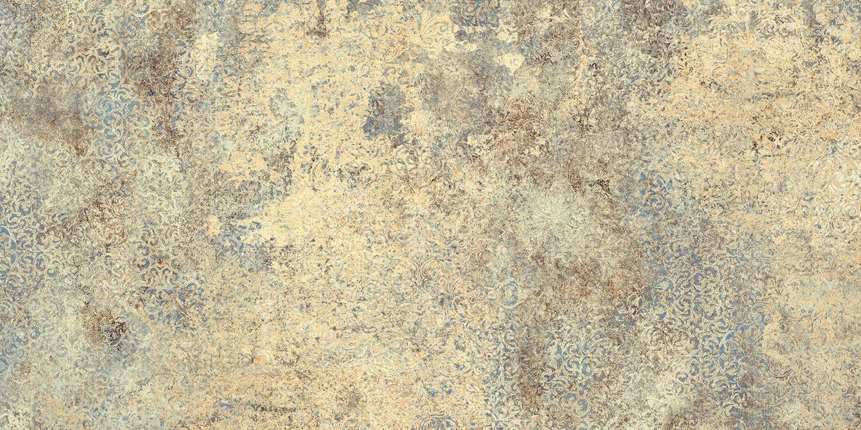 Płytka podłogowa Tubądzin Persian Tale gold 119,8x59,8 cm