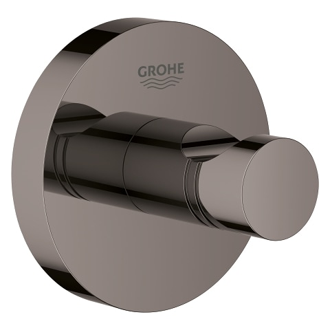 Haczyk na płaszcz kąpielowy Grohe Essentials hard graphite 40364A01