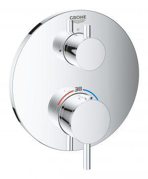 GROHE Atrio - termostatyczna bateria do obsługi jednego wyjścia wody 24134003