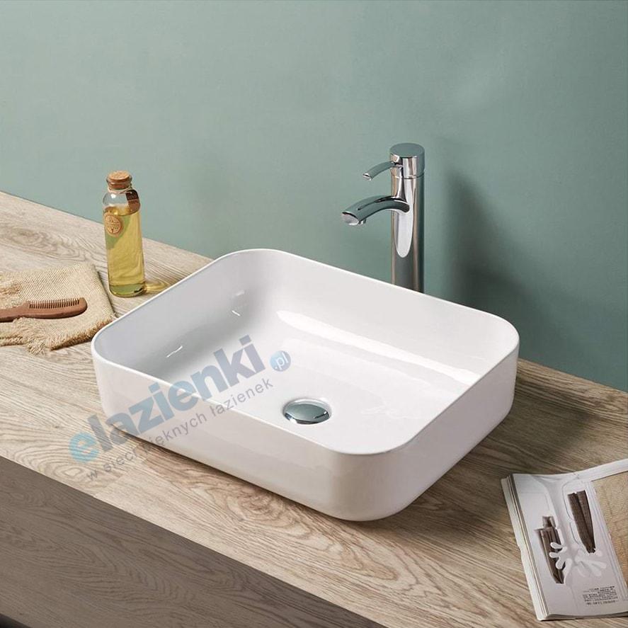 Umywalka nablatowa Zoya Bari 510x400x130 mm 78109