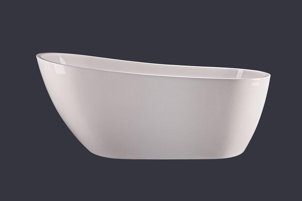 Wanna wolnostojąca Emporia Megan S 1520x760x720 mm ze zintegrowanym przelewem WS205-1500