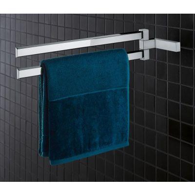 Zdjęcie Wieszak na ręcznik podwójny Grohe Selection Cube chrom 40768000