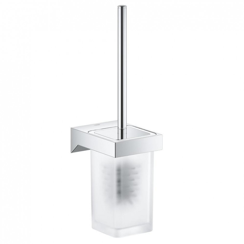 Szczotka toaletowa kpl Grohe Selection Cube chrom 40857000