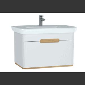 Szafka podumywalkowa Vitra Sento 80 cm biały mat 1 szuflada 60813 @