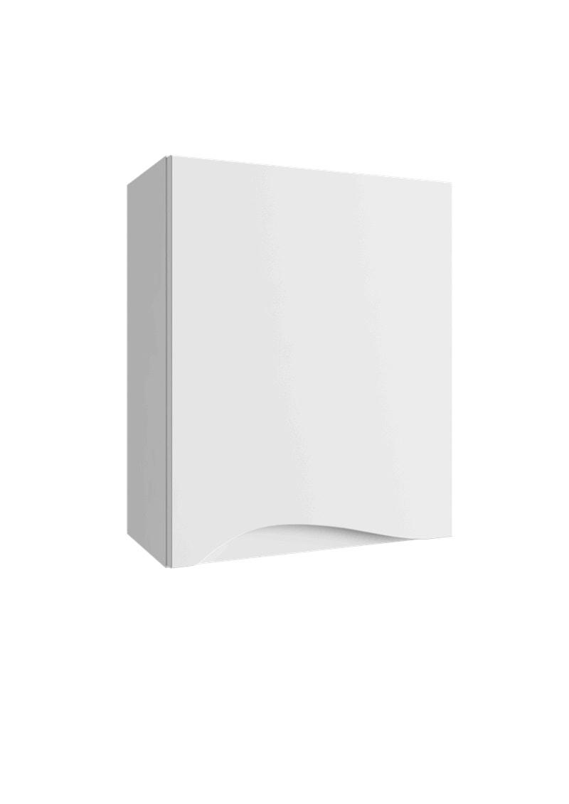 Szafka wisząca Defra Murcia A40 biały połysk prawa 41x50x21,8 cm 144-A-04001(P)