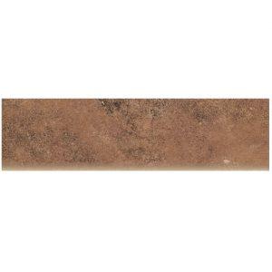 Płytki elewacyjne Cokół Paradyż Scandiano Rosso 8,1X30 cm